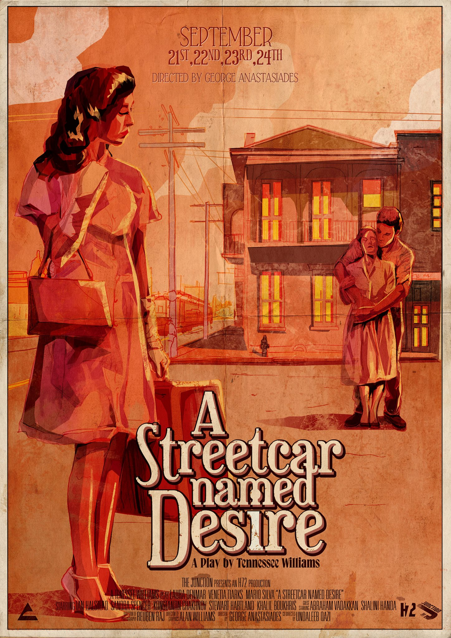 an analysis of a film adaptation of a streetcar named desire a play by tennessee williams