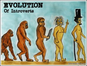 Evolution of Introverts