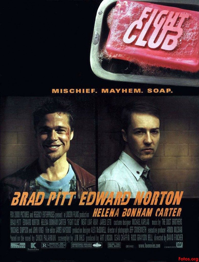 Fight Club, one of the very few cases in which the movie was better than the book.