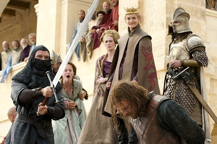 iconic moments from game of thrones