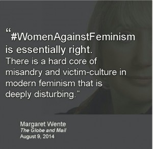 Women against Feminism: Just a meaningless social media trend?