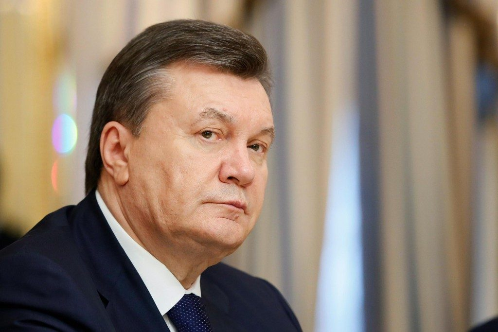Victor Yanukovych fled from Ukraine to Russia after months of protests against his government.  Image Source: nbcnews.com