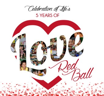 Celebration of Life Red Ball