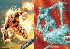 human-torch-vs.-iceman
