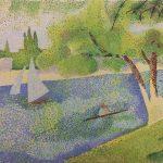 15- The Siene at la Grande Jatte- George Seurat 1888