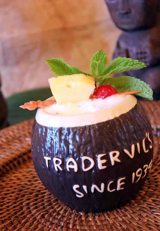 Trader Vic's Mai Tai Lounge Launches First Luau Ladies' Night