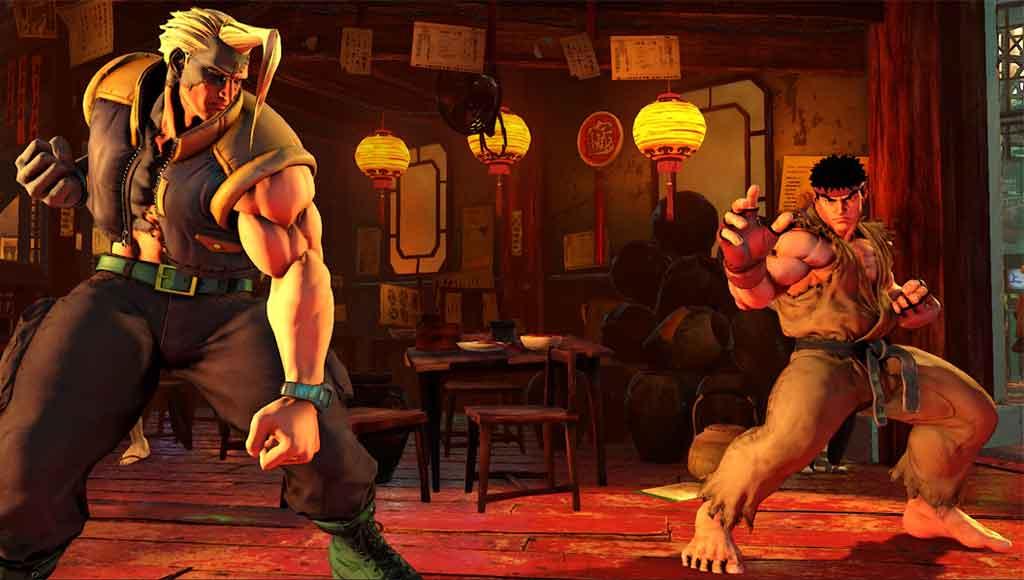 Konami's Street Fighter V