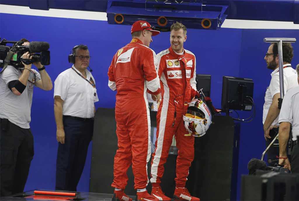 Vettel Leads From Pole To Wrap Up Dramatic Singapore Grand Prix
