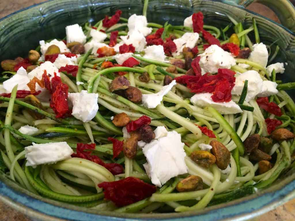 Quick Healthy Bites: Baked Zucchini Noodles