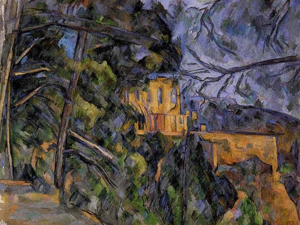 Chateau Noir by Paul Cezzane.