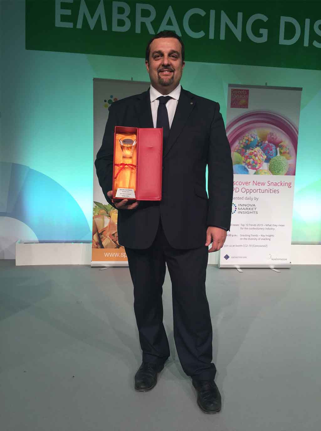 Campo D'Oro won the Award as Best Gourmand Brand in Speciality Food Dubai.