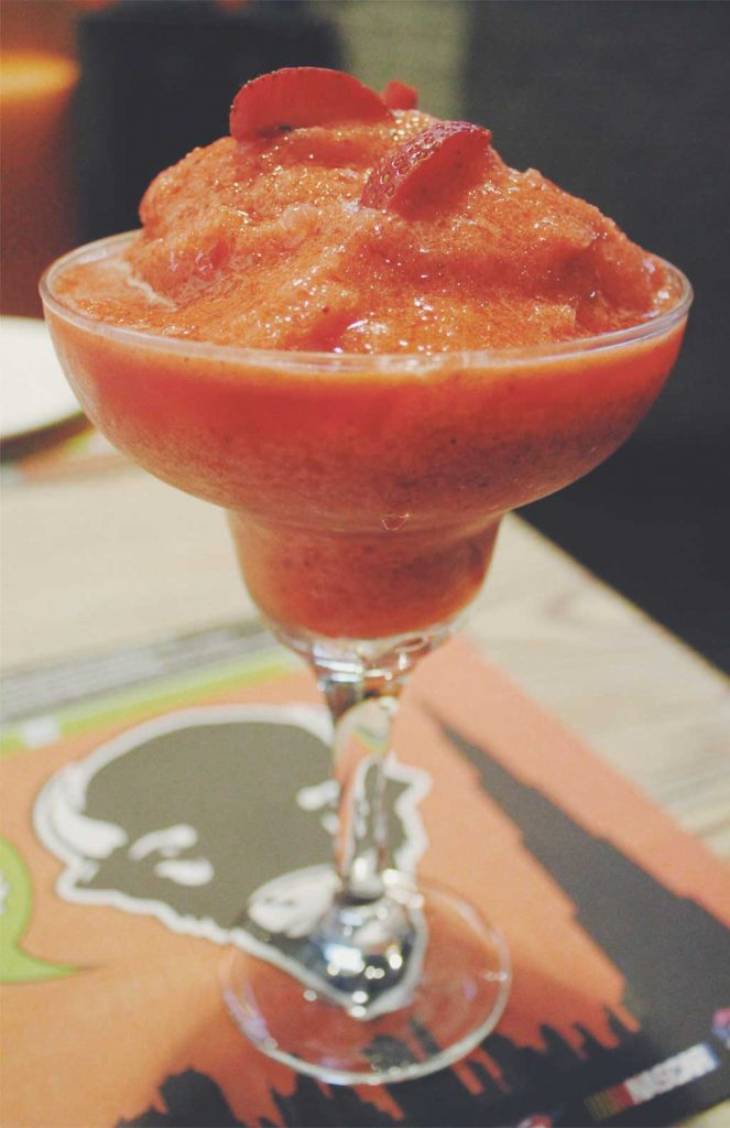 A slurp-y margarita for those tough weekday evenings.