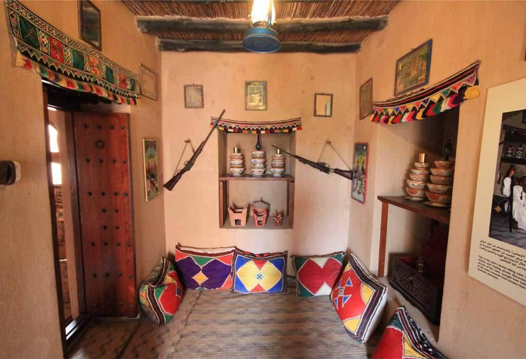 Interior of Taqah Castle