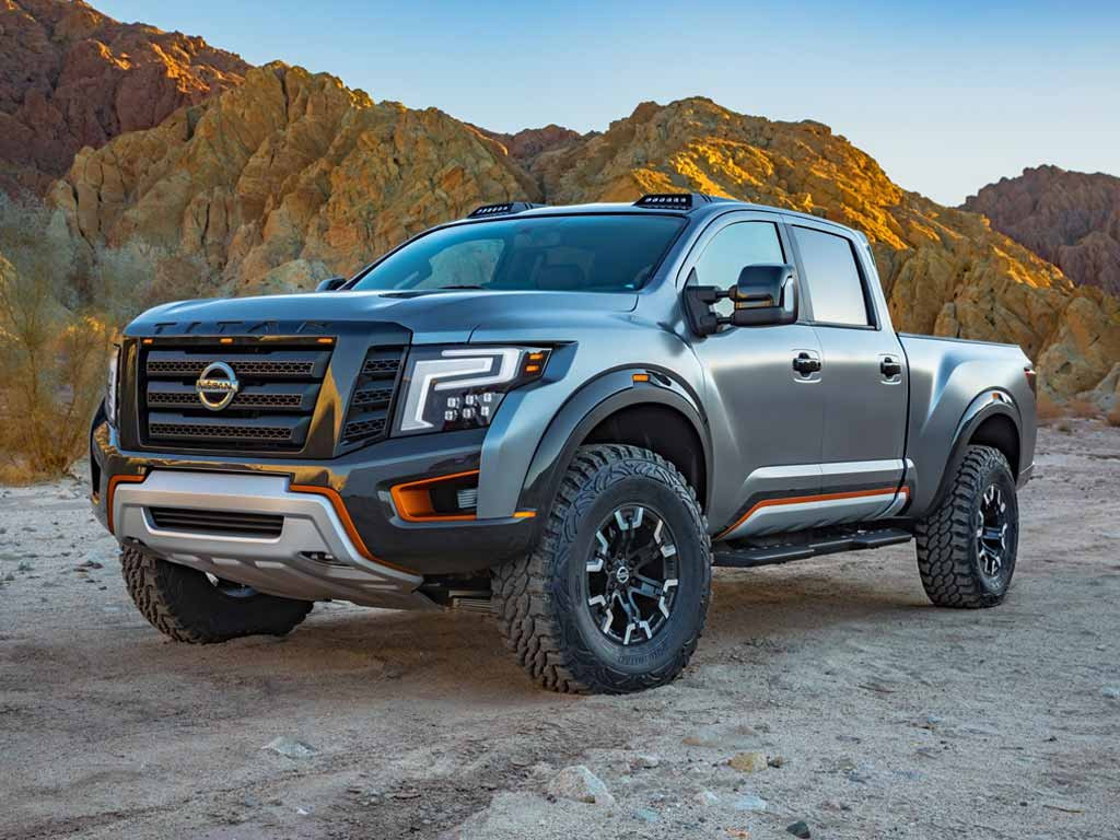 Another image of the Nissan Titan XD