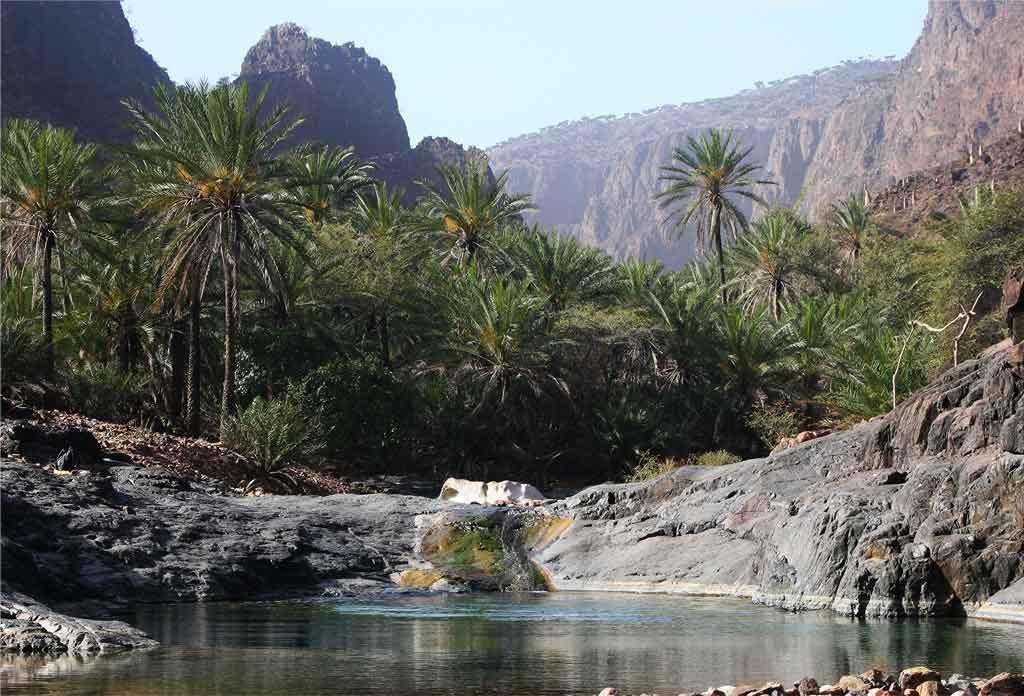 Wadi Durhar Canyon