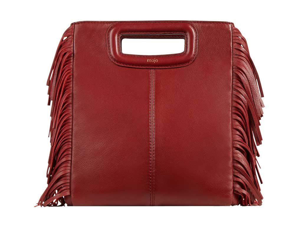maje-leather