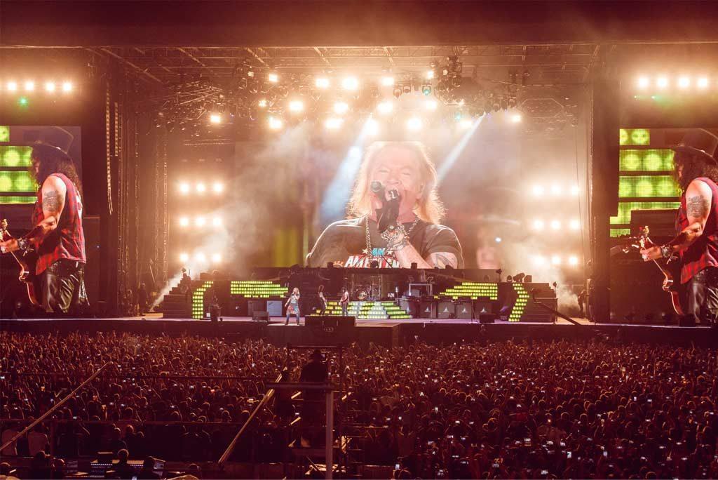 Guns N'Roses in Dubai