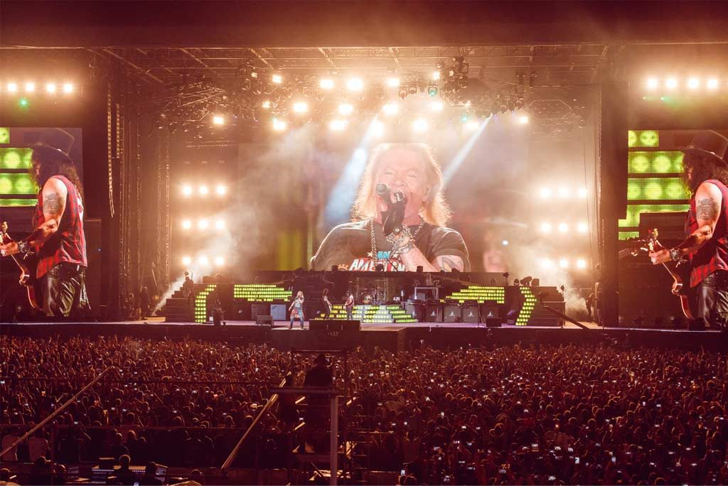 Guns N'Roses in Dubai